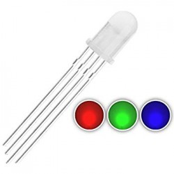 LED RGB 5mm 4 Pins