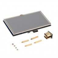 Raspberry Pi 5 inch HDMI LCD Module Resistive Touch Screen 800x480 Resolution