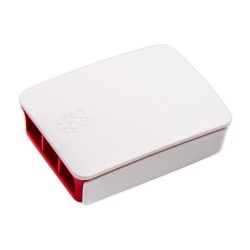 Red+White Raspberry Pi 3 Official Case ABS Enclosure Box Shell
