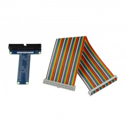1x 40Pin GPIO Colorful Cable 1x 400 Points Breadboard 1x 40Pin Blue GPIO Extension Board