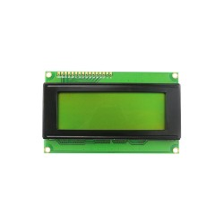 LCD2004 Yellow Green Backlight