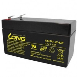 12 Volt 1.2 Ah Sealed Lead Acid Rechargeable Battery LONG