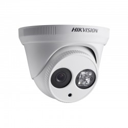 HIKVISION  3.6mm Lens, HD 720P EXIR Turret Analog NTSC Camera