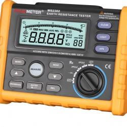 Digital Earth Resistance Tester Megger  PEAK-METER