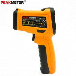 Non-contact Digital Infrared Thermometer K-type Probe Temperature & Humidity Gun