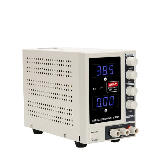 UNI-T 30V 5A Precision Variable Adjustable DC Power Supply Digital Regulated Switching Power Supply - Lab Grade