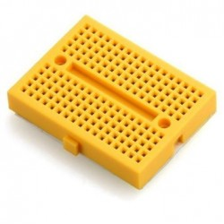 Mini Breadboard 170pts   Yellow with Connect