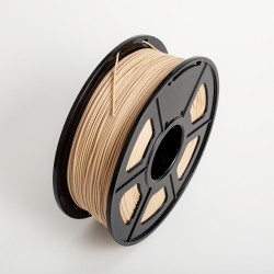 PLA 3D Printer Filament Wood 1.75mm with True Wood Powder 1KG/Roll