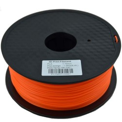 PLA 1.75mm Filament  Yellow  1KG/Roll