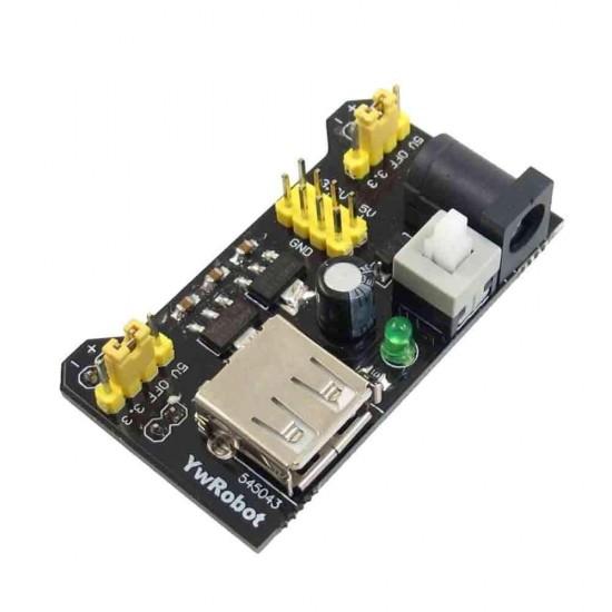 MB102 Breadboard Power Supply Module 3.3V 5V