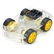 4WD double layer smart car chassis kit -Longer version