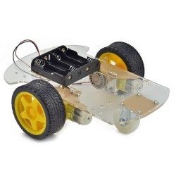 2WD Transparent Robot Smart Car Chassis