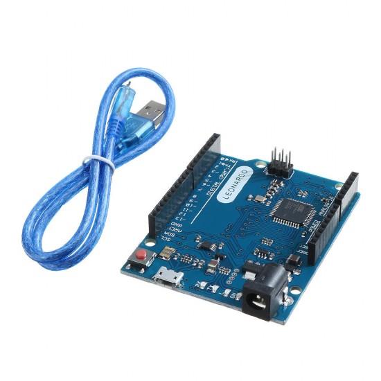 Leonardo R3 + Micro USB Cable - Arduino Compatible