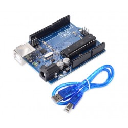 Uno r3 with USB Cable - Arduino Compatible