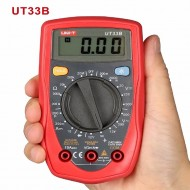 Mini Palm Size UNI-T UT33B  Digital Multimeter Auto Range AC/DC