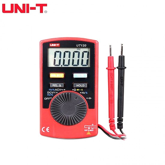 UNI-T UT120A Handheld Pocket Auto Digital Multimeter