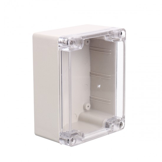115x90x55mm Clear Plastic Waterproof Electronic Project Box Case Enclosure Cover