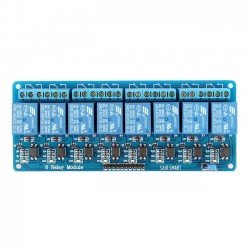 8 Channel Relay Module 12V