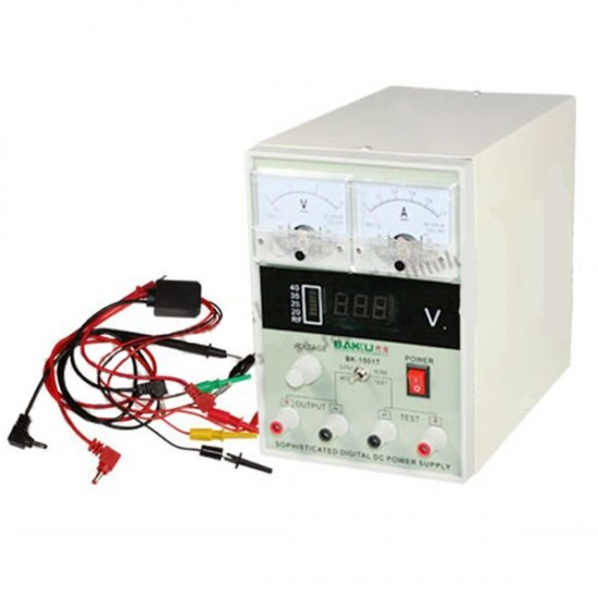 Adjustable DC Power Supply 15V 1A