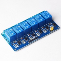 6 Channel Relay Module 5V with light coupling