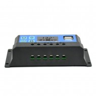 Solar Charge Controller 30A Dual USB 5V Output 12V 24V Auto Big LCD Display
