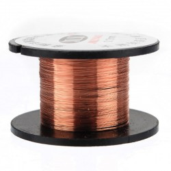 0.1mm Copper Solder Soldering wire PPA Enamelled Free scratch 11.5M/Roll