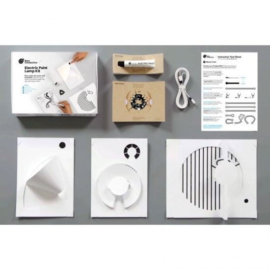 Bare Conductive Electric Paint Lamp Kit