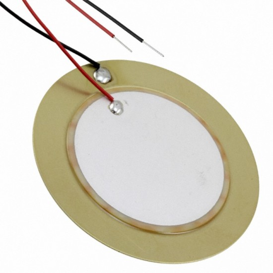 Piezo buzzer 20mm Thickness 0.33mm Copper Piezo Disc