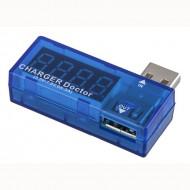 Digital USB Mobile Power Charging-Current Voltage Tester Meter