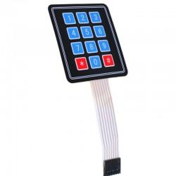 4*3 Membrane Switch Matrix Keypad