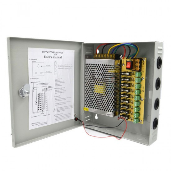 9CH CCTV Power Supply