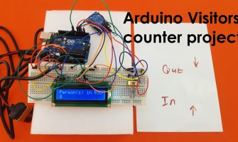 Arduino Visitor Counter Project