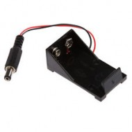 9V Battery Holder Box DC Plug Socket