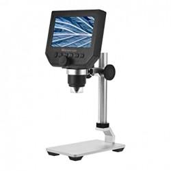 600X 3.6MP Digital Microscope with Metal Stand,UK Plug