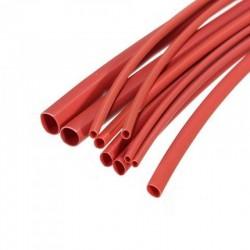 Heat Shrink Tubing 4mm Red 1 Meter