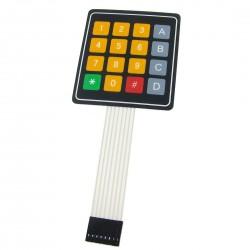4x4 16 Key Matrix DIY Membrane Switch Touch Pad 76 x 69 x 0.8mm