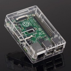 ABS Case for Raspberry Pi 2 Transparent Clear