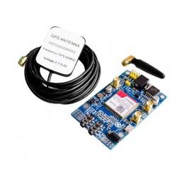 3G 4G GSM Sim808 module, Gsm GPRS GPS IPX Development Board  with  GPS antenna