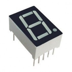 0.56 inch Red 1 Digit 7 Segment LED Display 10pin AC013 Common Cathode(CC) AC219 Common Anode(CA)