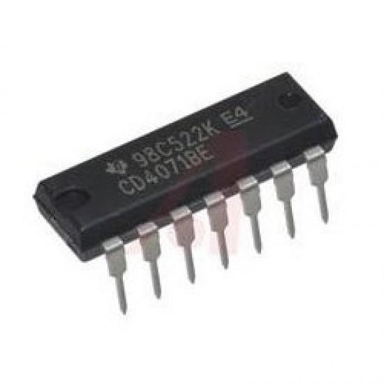 CD4071BE CD4071 CMOS Quad 2-Input OR Logic Gate IC Dip-14