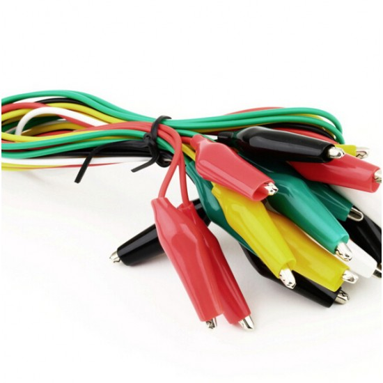 Alligator Clips Electrical Wire 10pcs