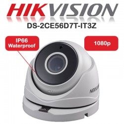 HIKVISION 1080p 2MP Full HD TVI CCTV CAMERA 40m MOTORISED ZOOM