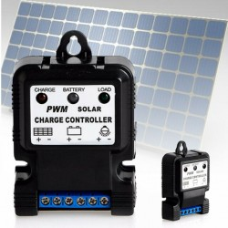 12V 24V 10A auto solar charger controller PWM