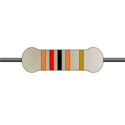 120R 1/4W 5% Taping Carbon Resistor