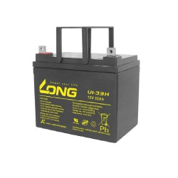 12V 33Ah lead Acid Battery - LONG