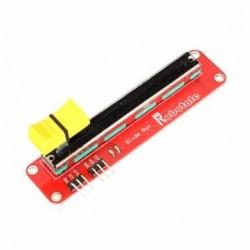 Adjustable slide potentiometer module 10K