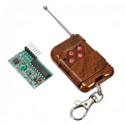 Wireless Remote Control Kit - 4 channels