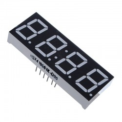 0.56 inch with Clock Red 4 Digit 7 Segment
