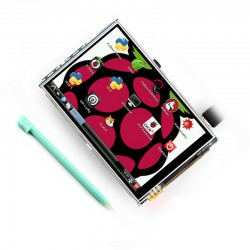 Raspberry Pi LCD module  TFT Touch screen +Touch Pen 3.5 inch