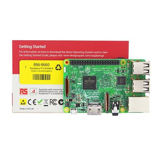 Original Raspberry Pi 3 Model B 1GB RAM Quad Core RS Version